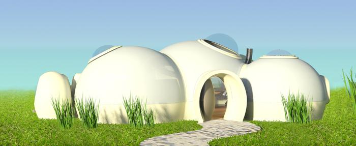 Connaissez vous l 39 habitat studio bulle for Maison en bulle