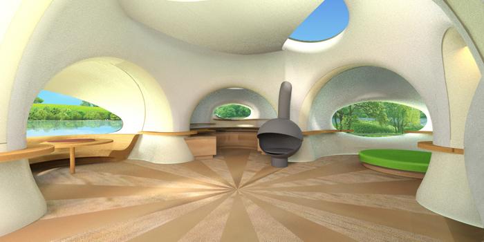 intérieur studio bulle