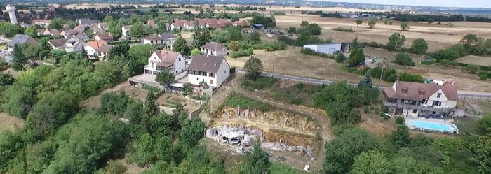maison bulle Montgivray