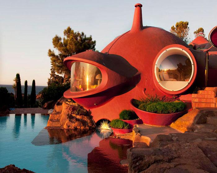 maison bulle Pierre Bernard