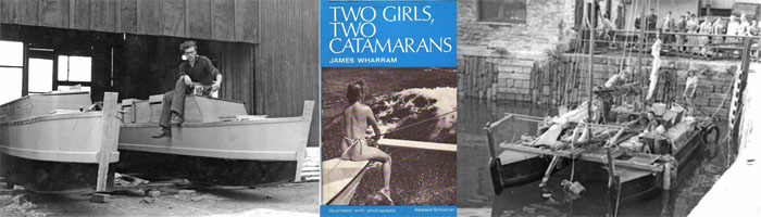 two girls two catamarans
