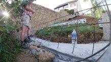 ferraillage du mur de l'escalier suspendu
