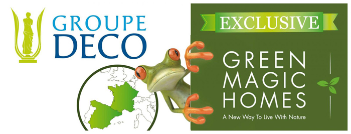 green magic homes groupe deco europe