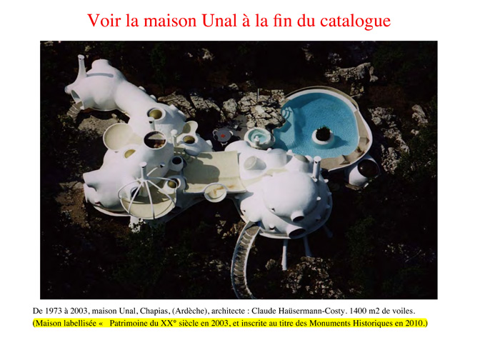 catalogue maison bulle Joël Unal page 26