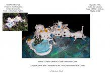 maison bulle Joël Unal maquette Chapias Ardèche