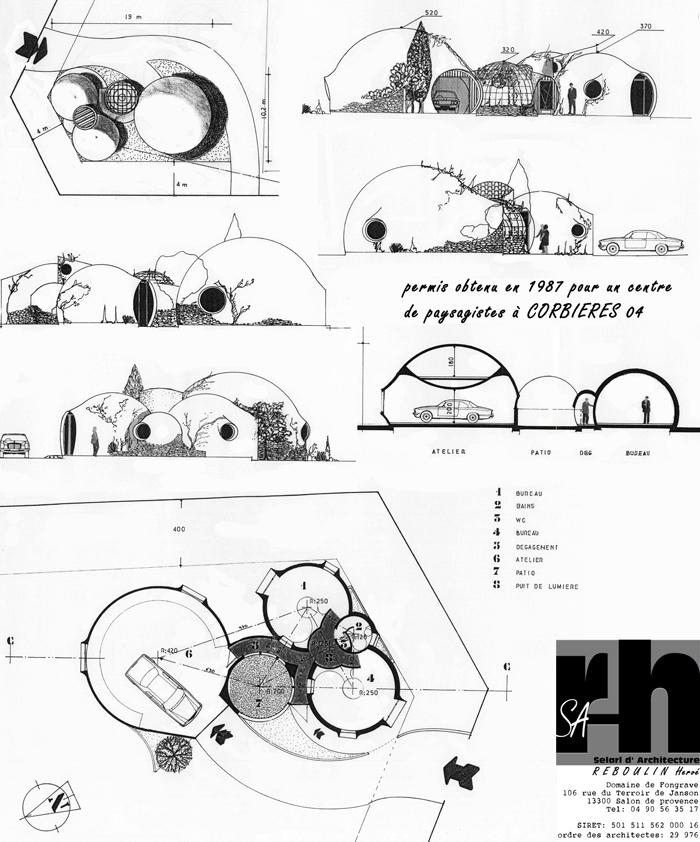 projet maison bulle Corbières