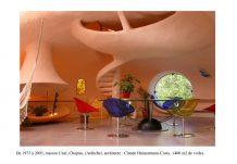 hamac maison bulle Claude et Joël Unal en Ardèche