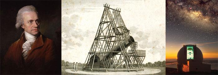 William Herschel et la nébuleuse de la bulle