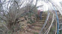 ferraillage escalier extérieur 03 premiers fers