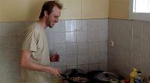 Antoine nous fait découvrir ses talents de cuisinier