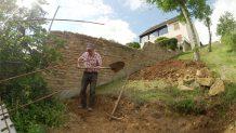 terrassement mur soutènement