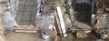 béton sur paillasse escalier cuisine