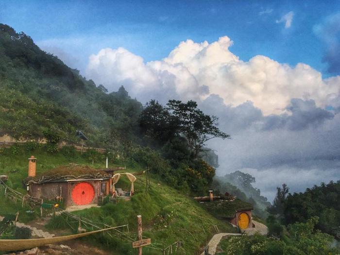 maisons hobbit guatemala