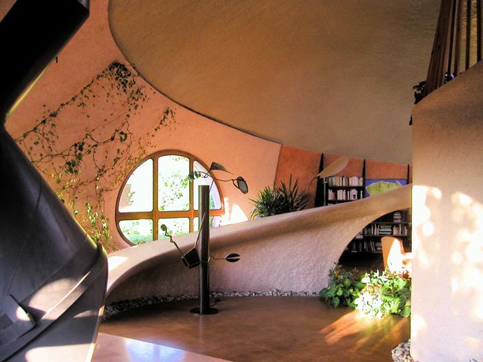 intérieur maison bulle
