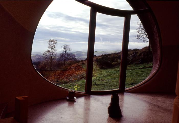 baie vitrée salon
