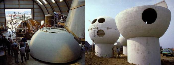 construction maisons boules