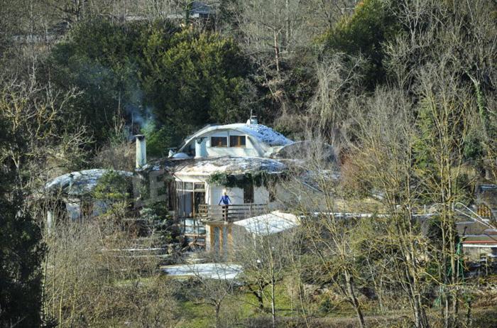 vue d'ensemble maison bulle de Bernard
