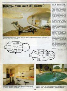 piscine intérieure maison bulle Bernard Massie