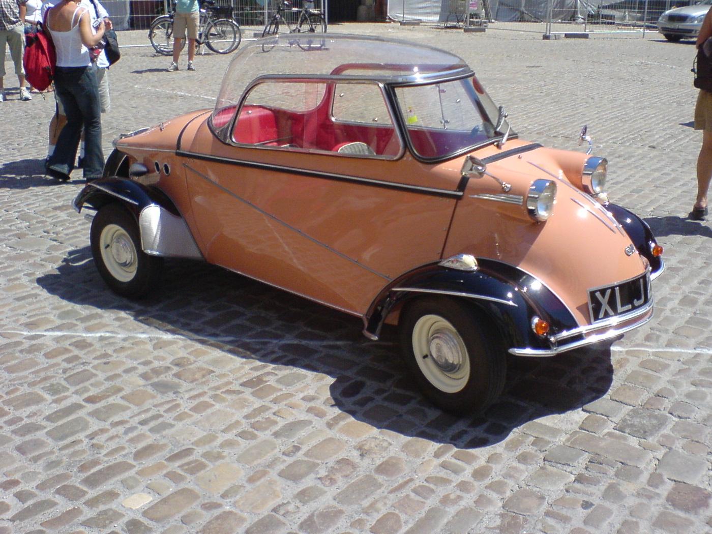 Bulle Voiture Messerschmitt (1950) – Modèles Tricycle