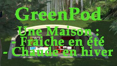 Découvrez le concept GreenPod