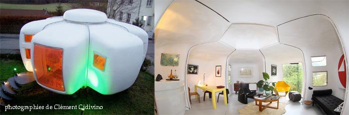 maison bulle a 6 coques de Jean Maneval