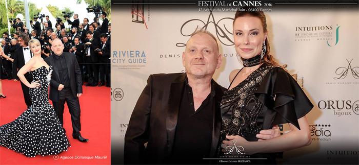 Denis Durand au festival de Cannes