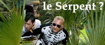 Luis Rego et Coluche cherchent le serpent a plumes