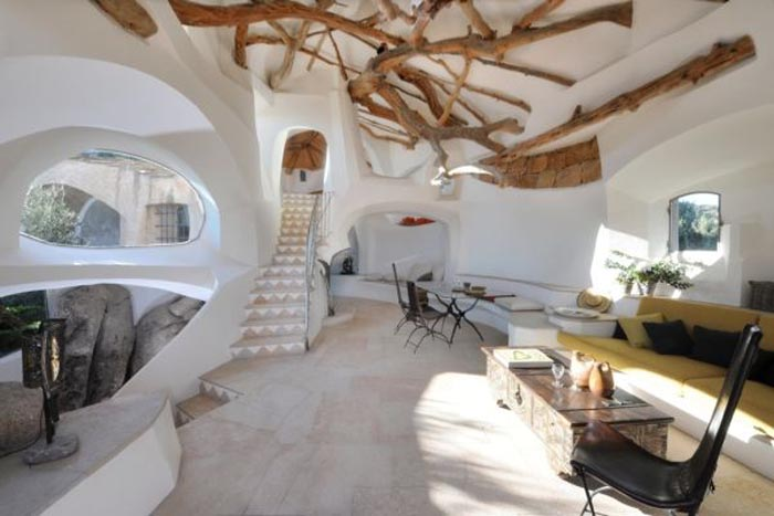intérieur villa Jacques Couelle