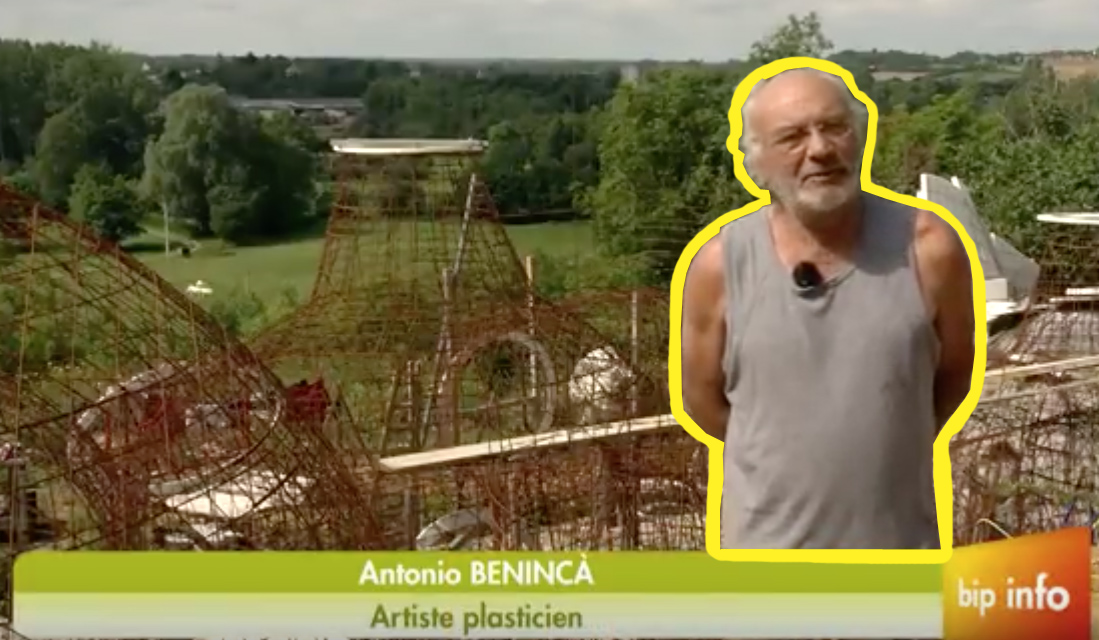Antonio Benincà maitre de stage