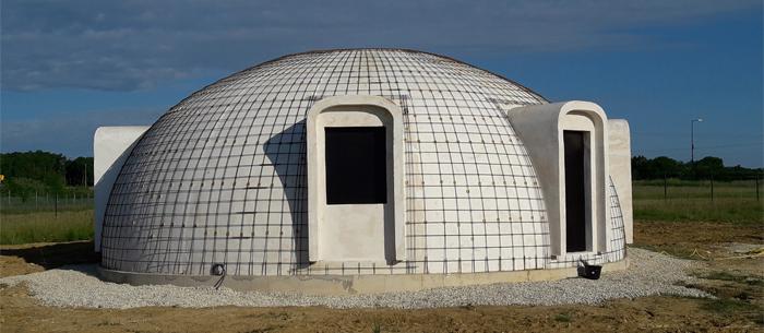 ferraillage dome