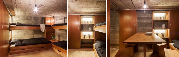 intérieur bunker