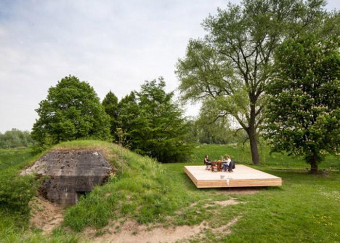 extérieur bunker