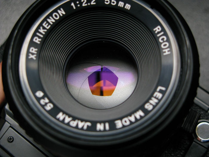 diaphragme appareil photo