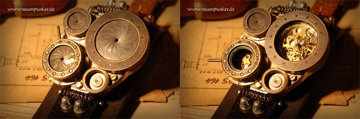 montre steampunk