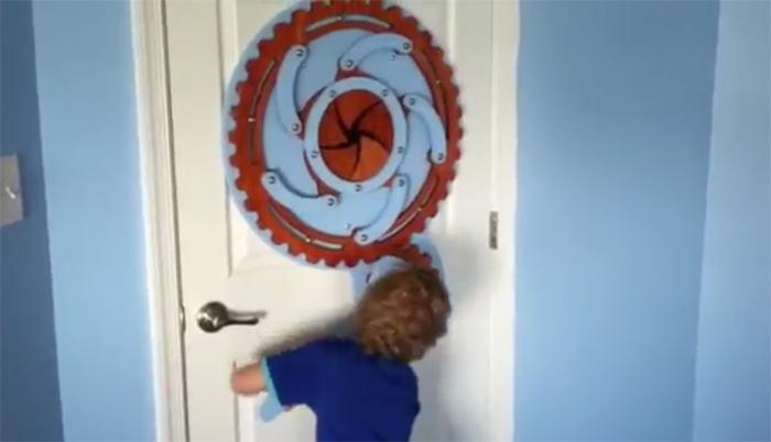 porte chambre d'enfant
