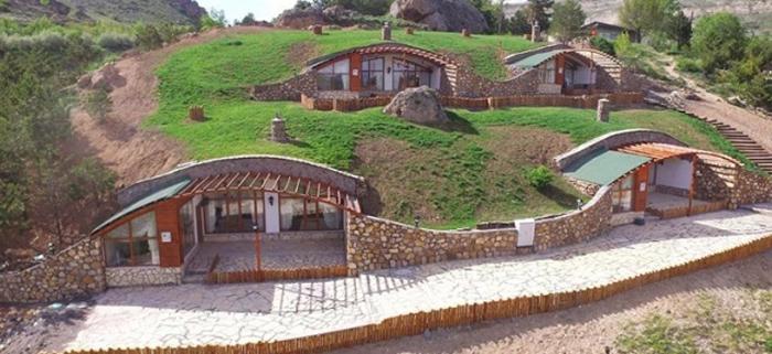modern hobbit village