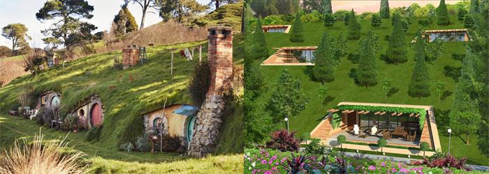 projet hobbit village