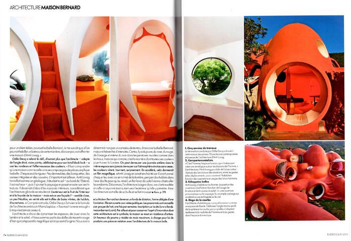 Architecture Maison Bernard Elle Décoration