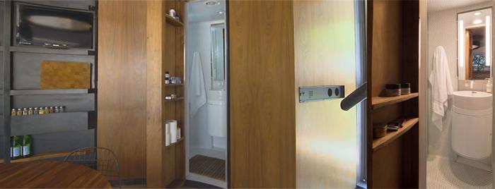 bathroom silo house kaiser