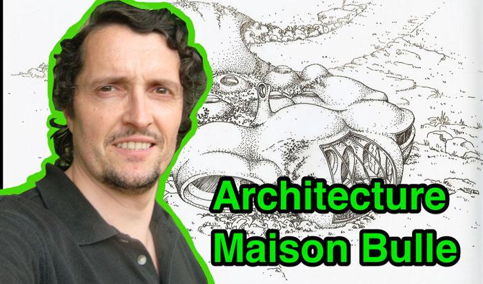 Nicolas Bergougnoux, architecte maisons bulles