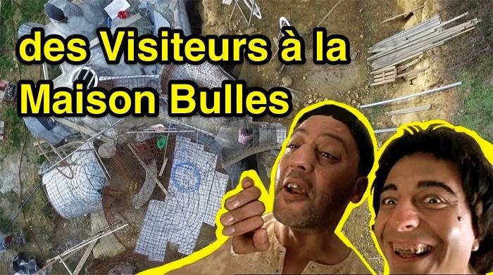 visite a la maison bulle